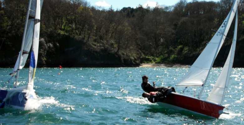 Gotcha! Leaving Ed Bolitho time to inspect the trawler's mackerel haul