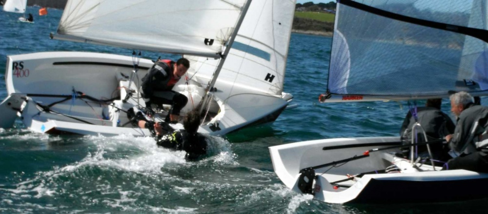 Outstanding Sportsmanship – Rear Brake applied at the committee boat