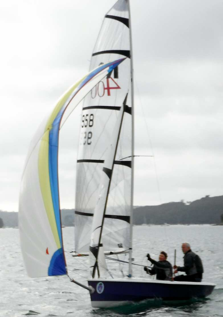 Altering the rigging of the Morrison designed RS is something that probably shouldn't be attempted whilst sailing - & especially in the middle of a race – except by the very few.