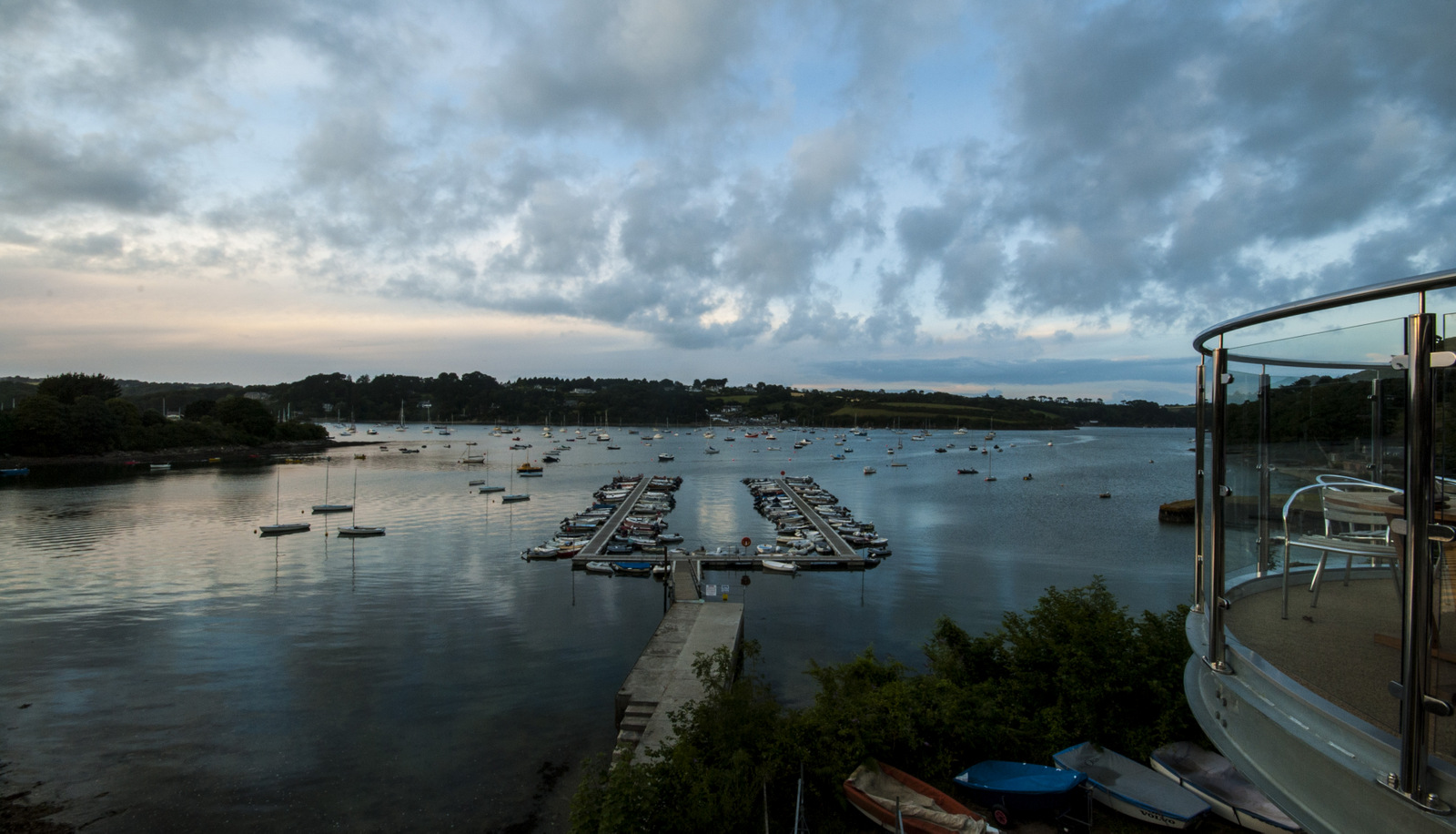 Helford River Sailing Club Sunset 1